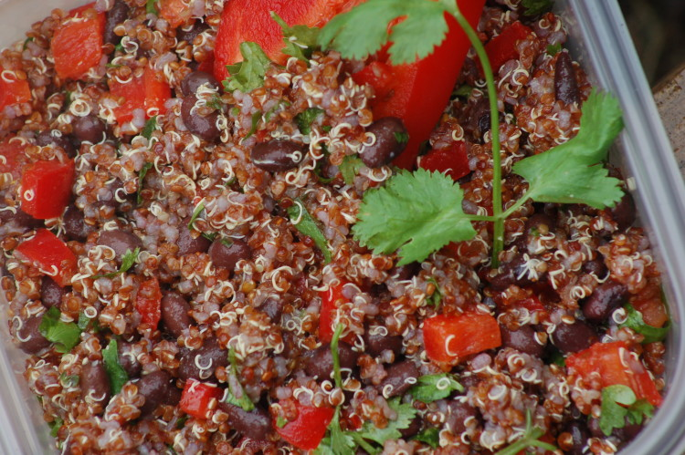 Your Workday Needs 10-Minute Southwestern Quinoa Salad