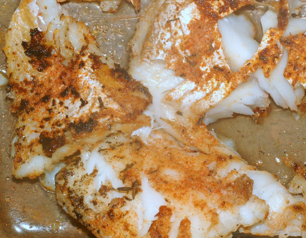 Garlic Lime Fish is a spicy supper.