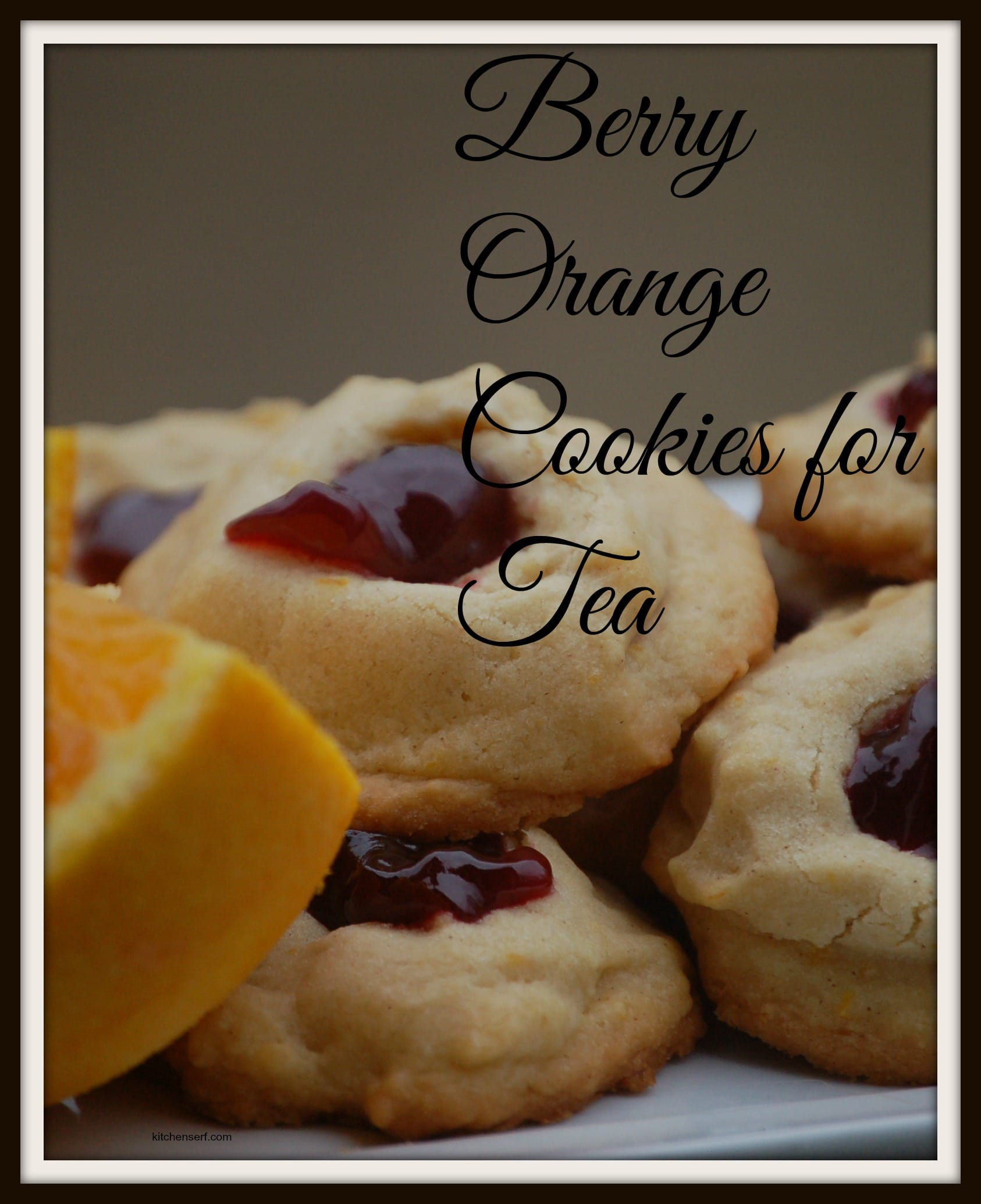 Marilla Cuthbert's Berry Orange Cookies