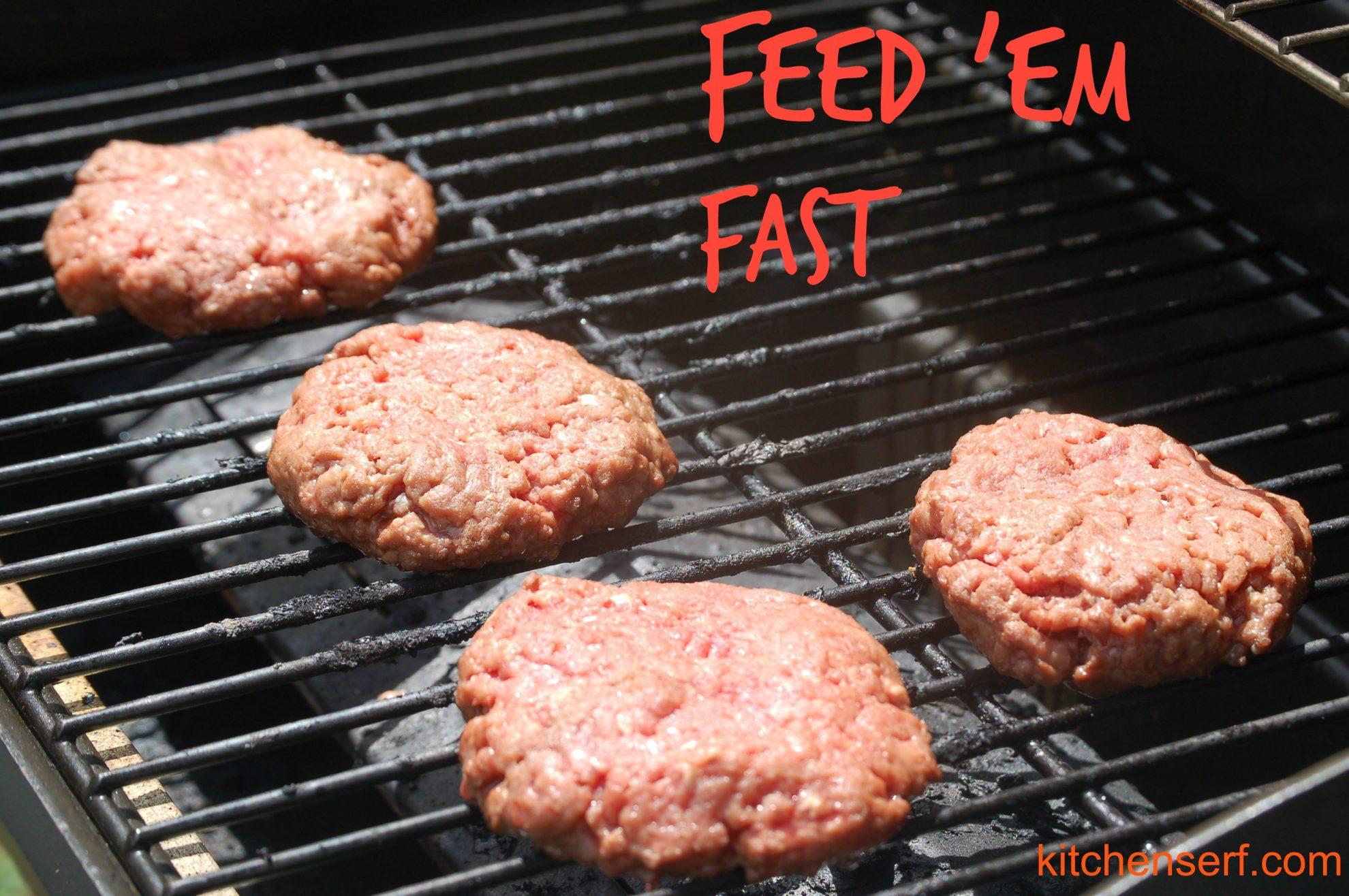 Feed Em' Fast: Gas Grill
