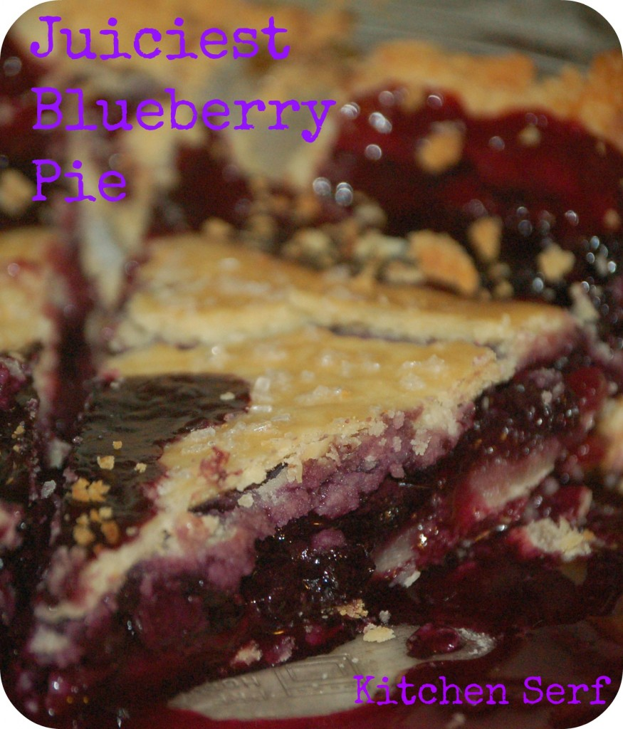 The best-tasting pies, such as this juicy blueberry pie, aren't always the most attractive pies.