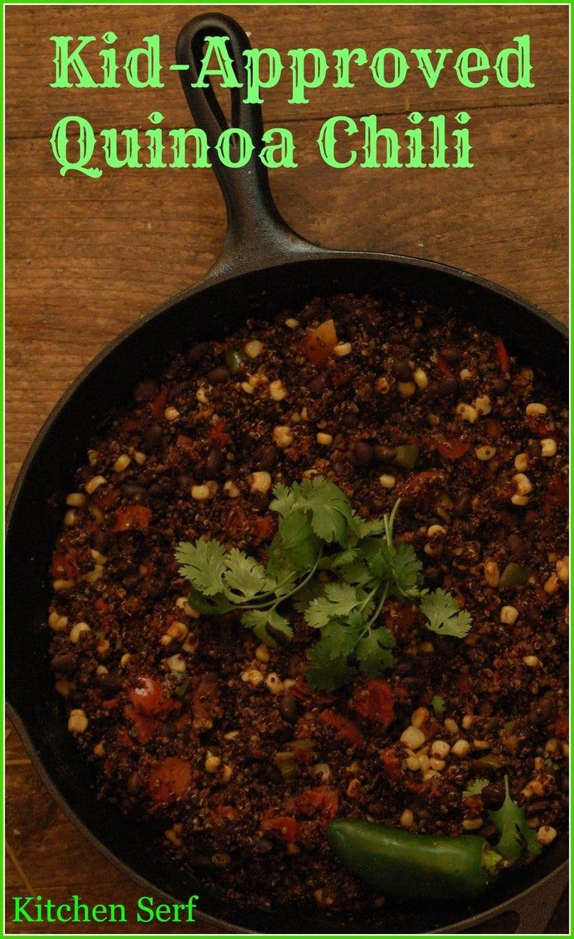 Kid-Approved Quinoa Chili