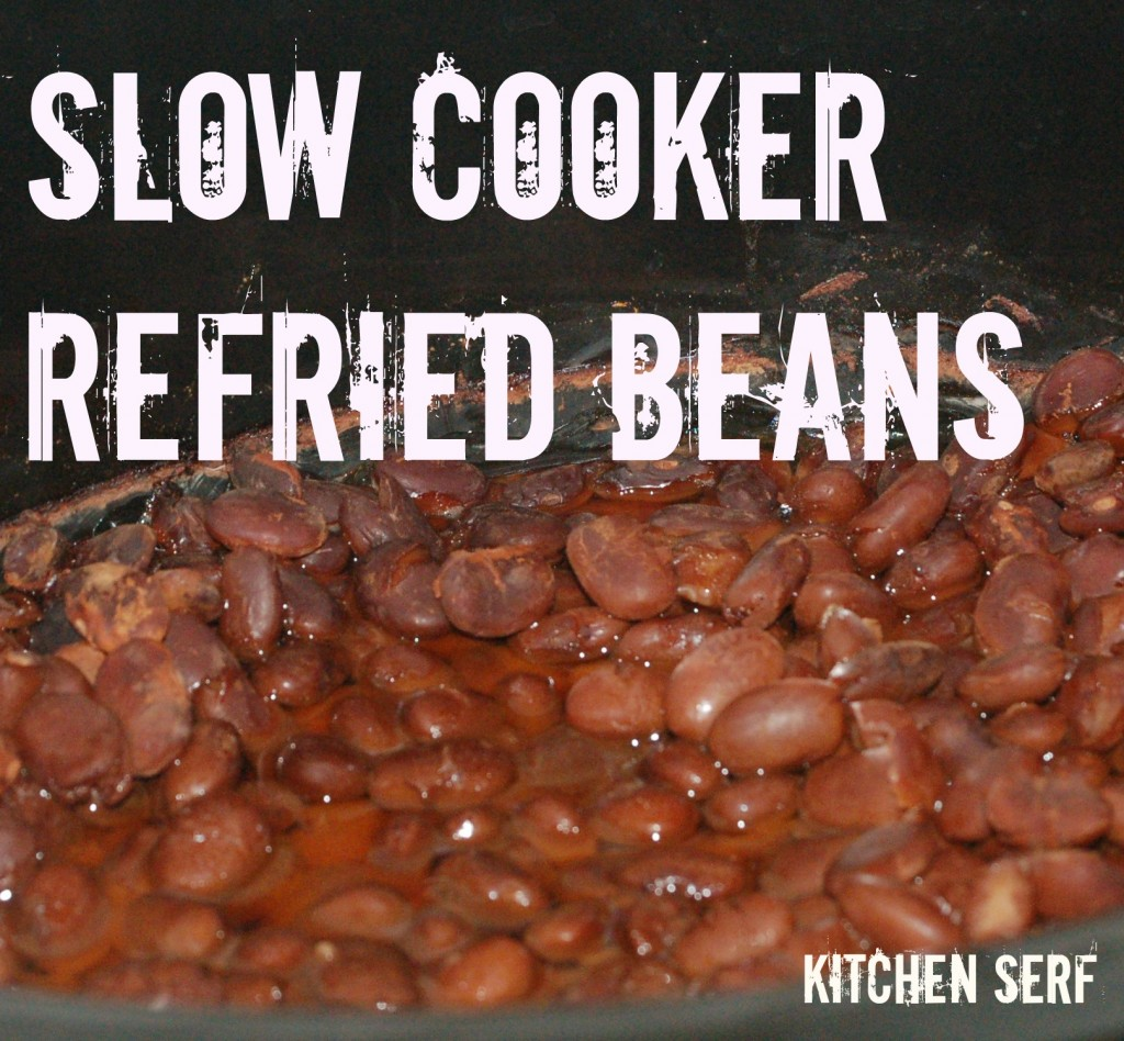 Slow Cooker Refried Beans are so good you'll never go back to store-bought.