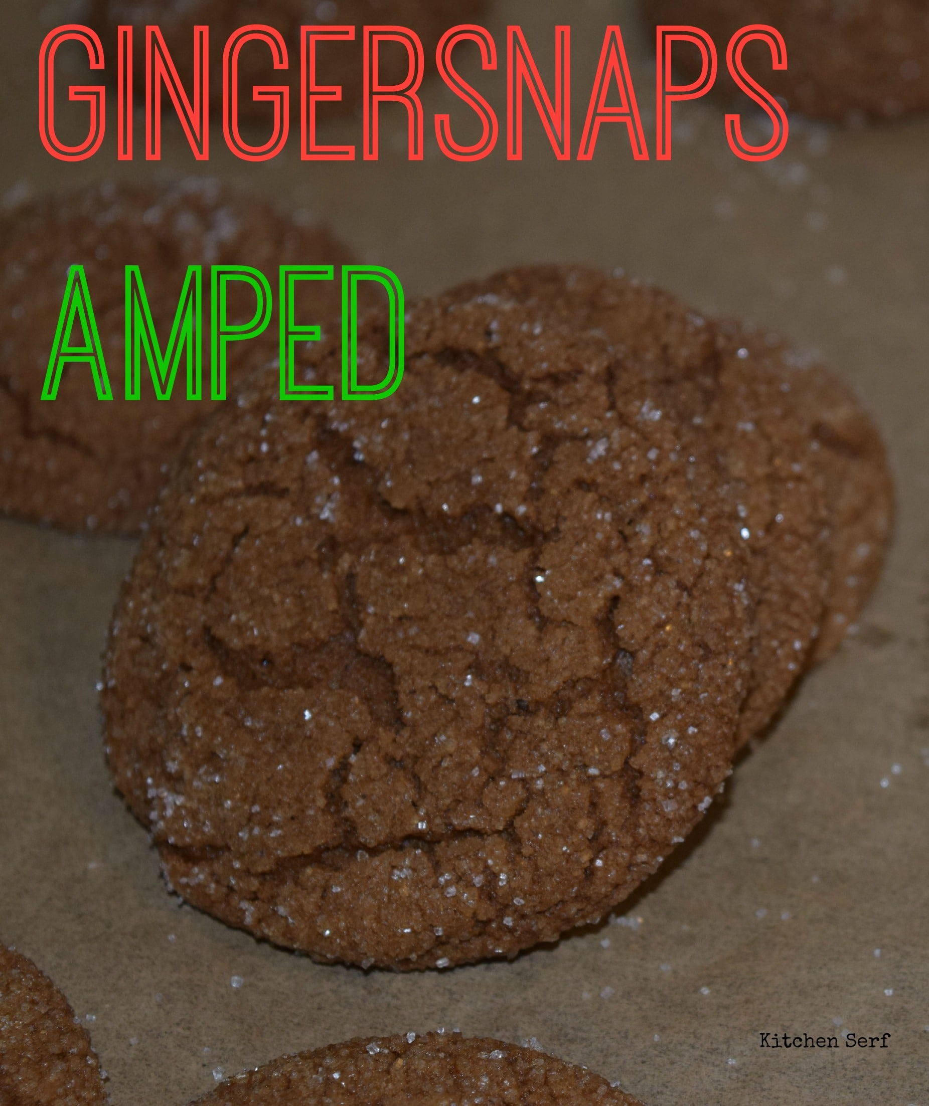 Gingersnaps Amped