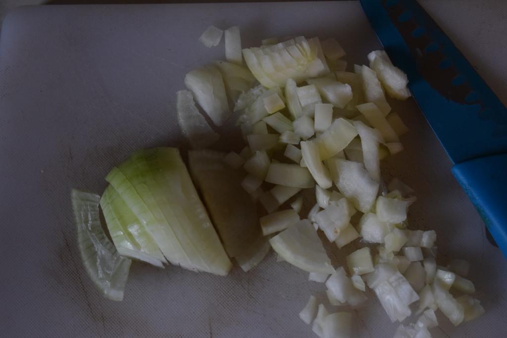 onion chopped