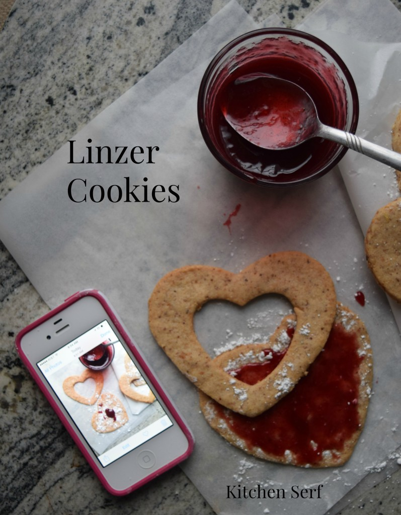 Linzer Cookie iphone Photo Shoot