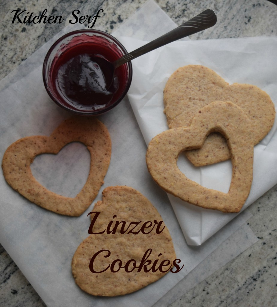 Linzer Cookies by Kitchen Serf