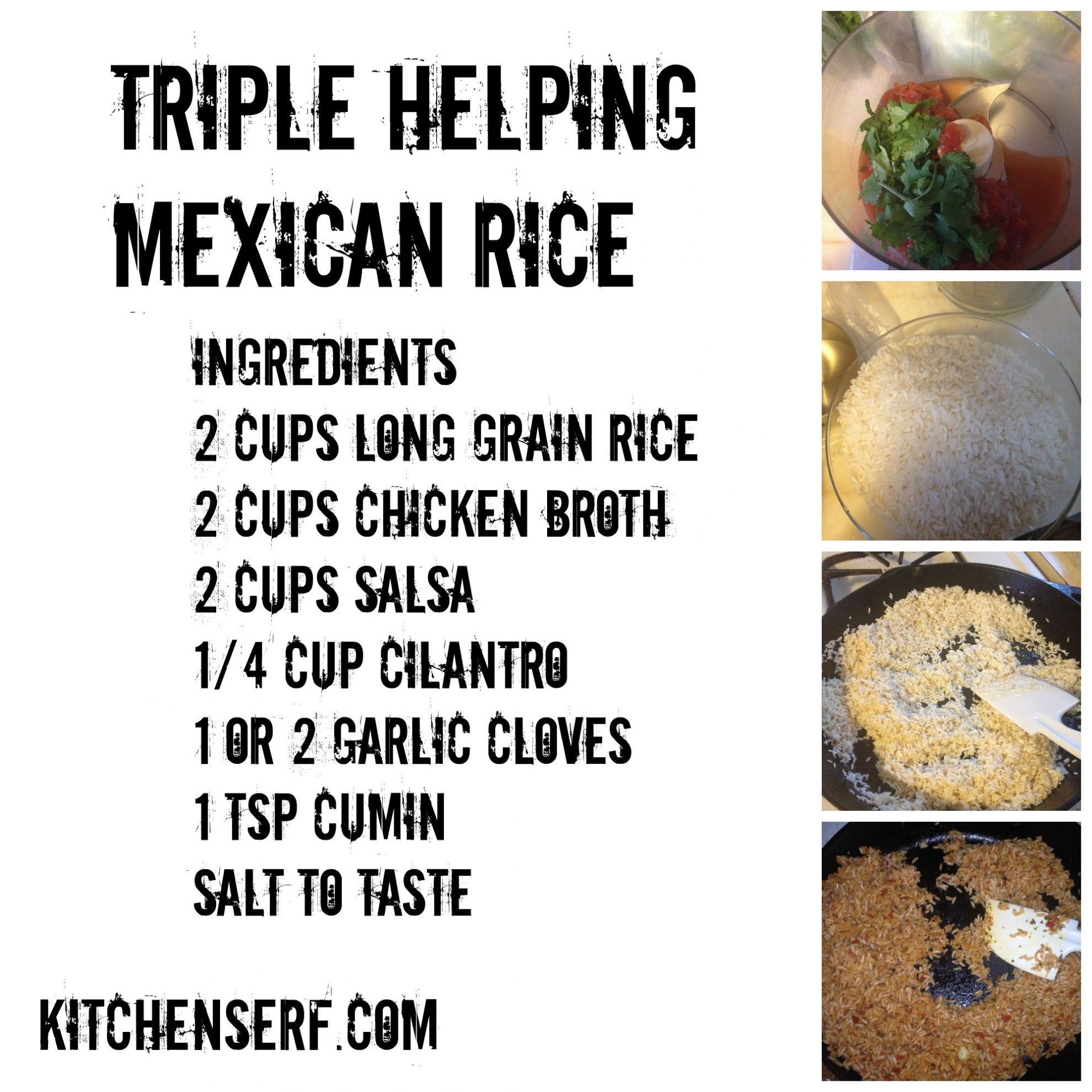 Triple Helping Mexican Rice