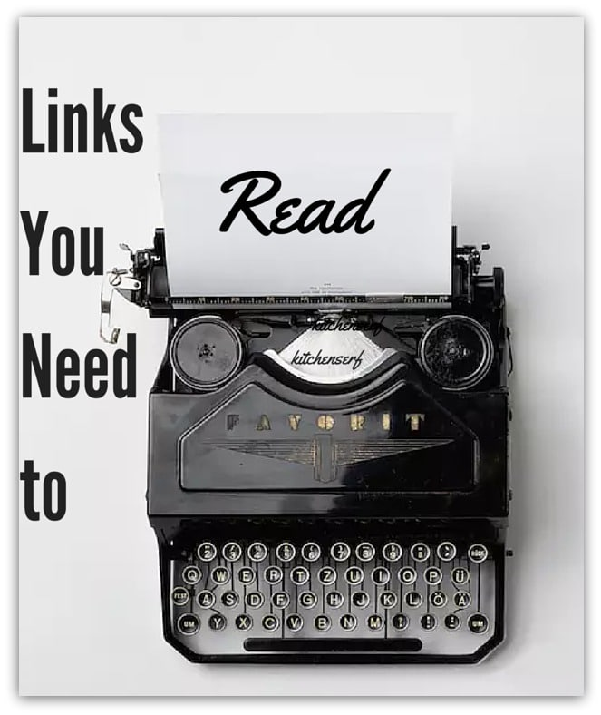 Links You Need to Read to be Smarter, Faster, Greater.