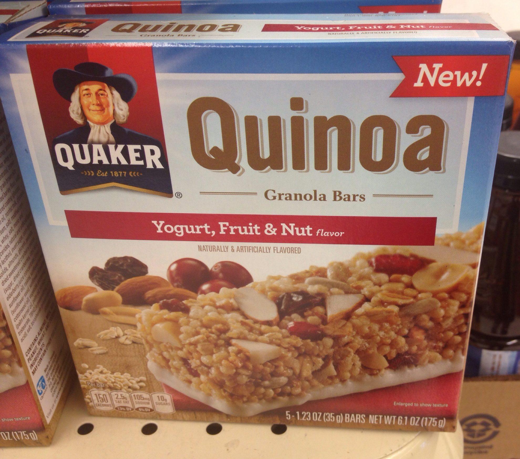 Quinoa Granola Bars?