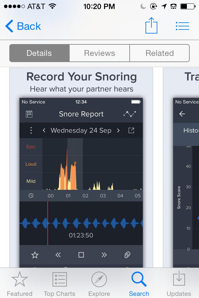 Free App Alert Snore Lab: Make Him Stop Snoring