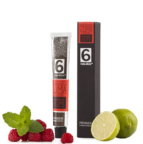Raspberry and Lime Extra Jam with Mint
