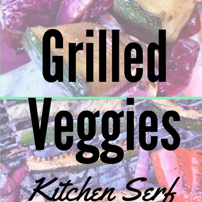 Vegetables Grilled