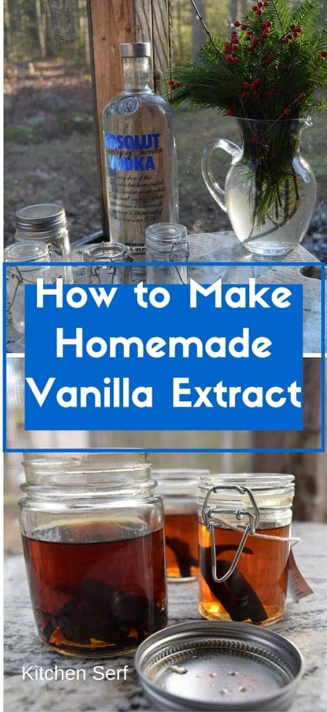 Make Homemade Vanilla Extract Recipe