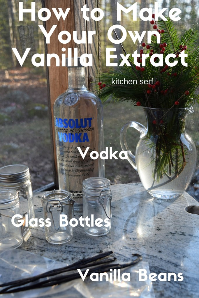 How to Make Your Vanilla Extract