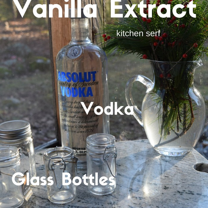 How to Make Vanilla Extract Recipe