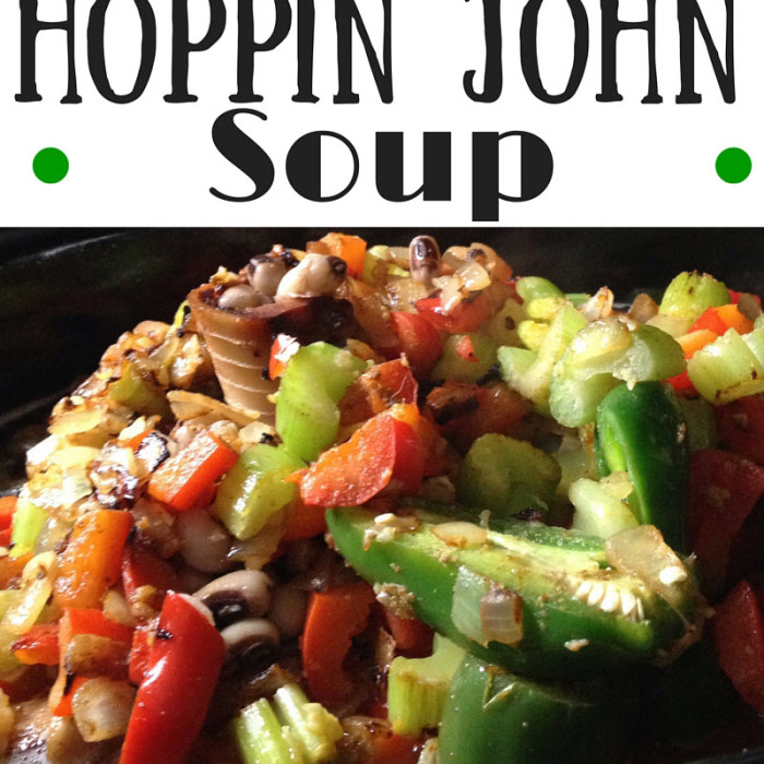 Easy Hoppin John Soup Recipe