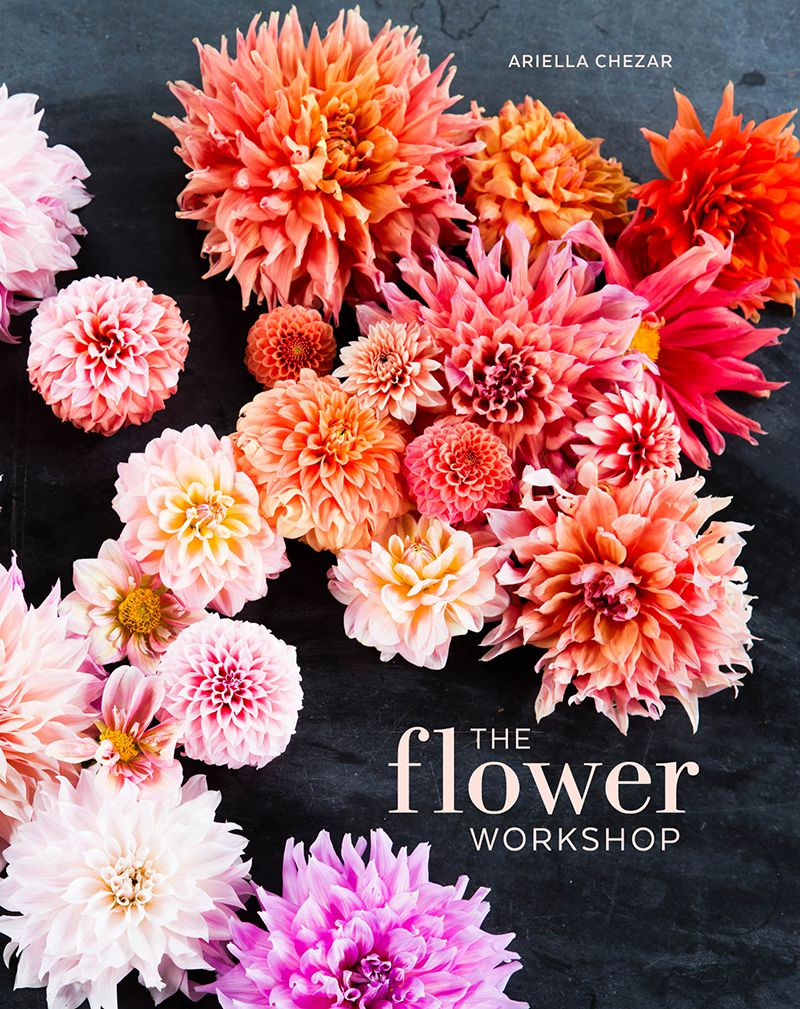 If you love flowers or grow them, you need Ariella Chezar's The Flower Workshop, which is gorgeous, inspiring guide to arranging flowers.