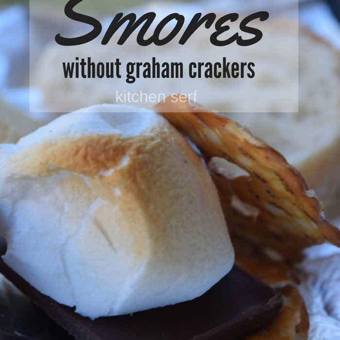 S'mores Without Graham Crackers + a Free Printable