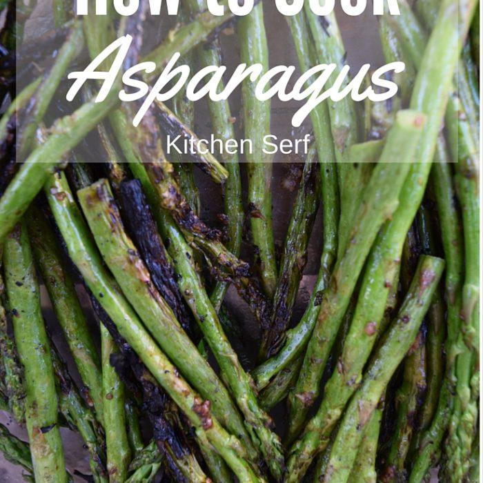 How I Cook Asparagus