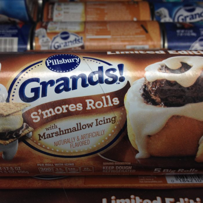 Pillsbury Grands! S'mores Rolls with Marshmallow Icing