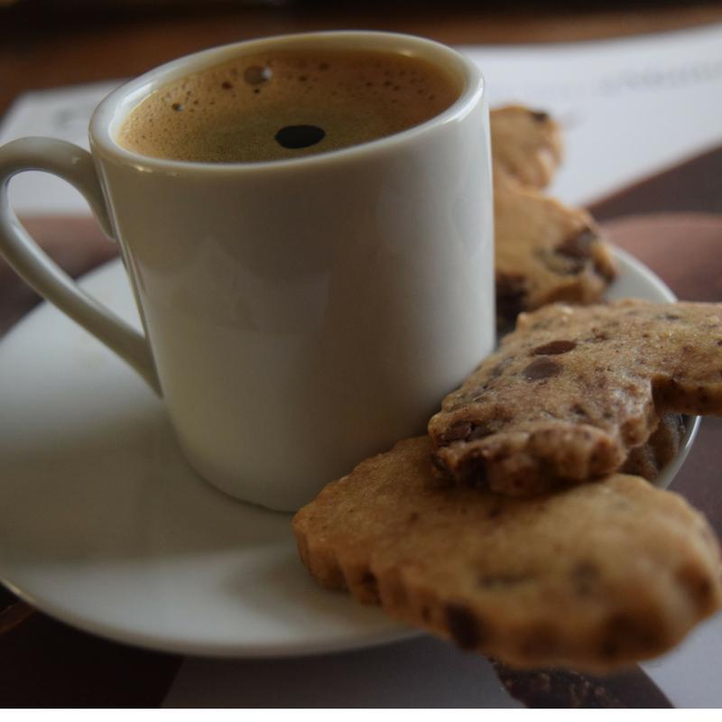 Espresso Chocolate Shortbread