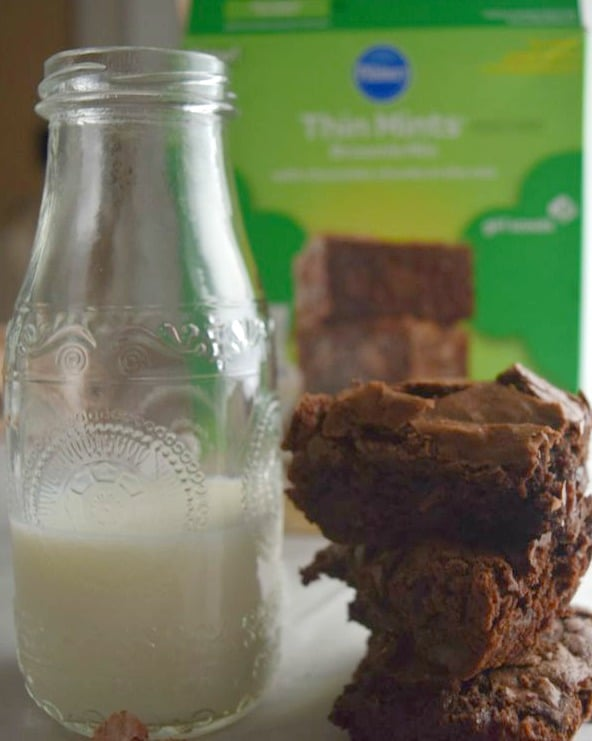 Thin Mints Brownie Mix Review