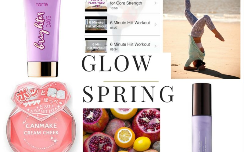 Spring Glow: Five Things to Do and Try to Get One