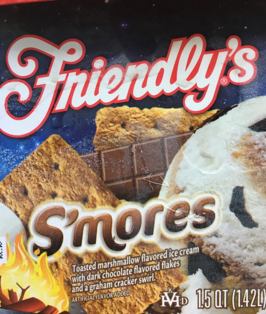 Friendly's S'Mores Ice Cream is so good it will make you forget your hips and thighs. Go ahead and focus on your taste buds for a minute.
