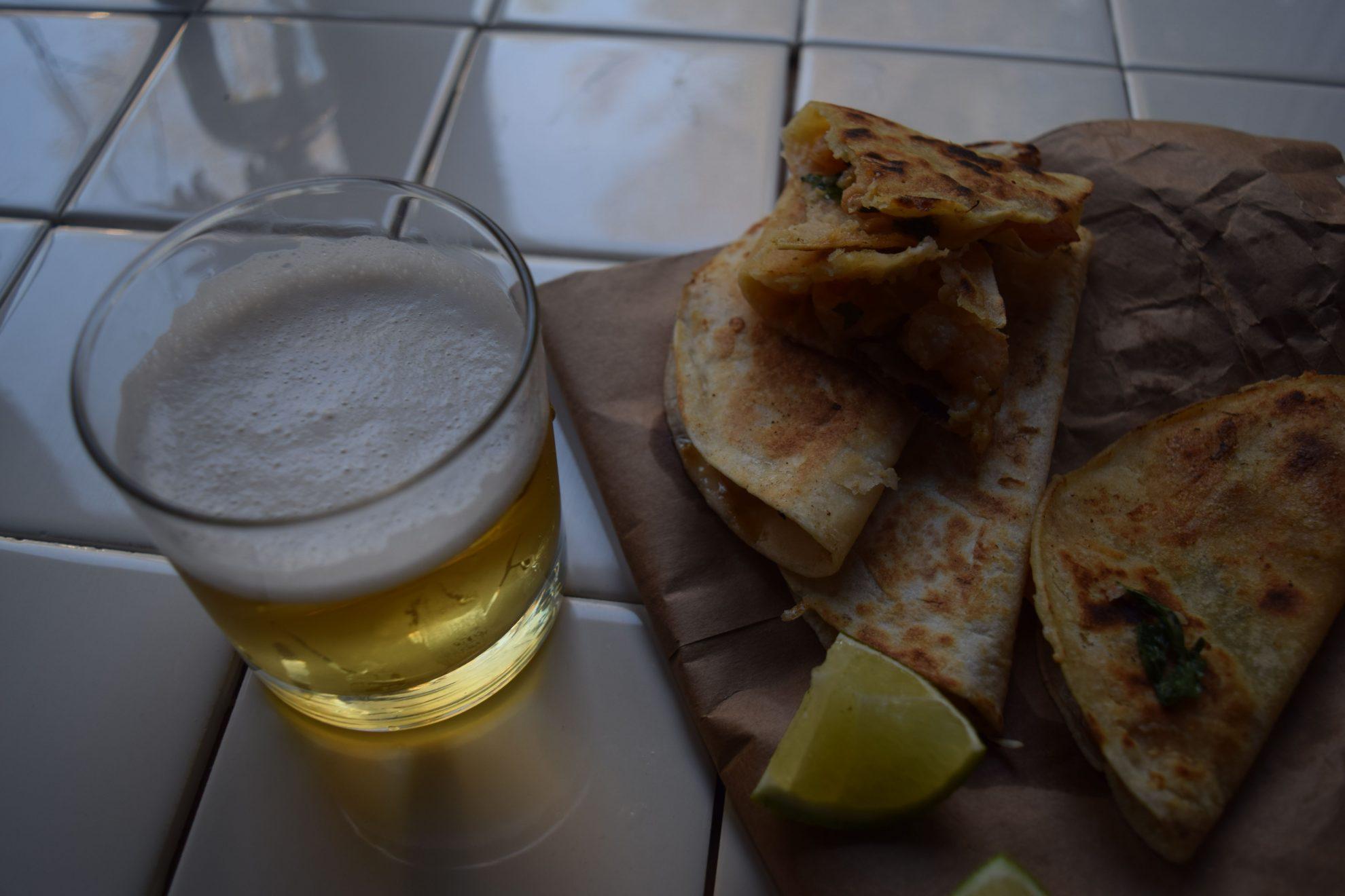 Dinner Lately: Shrimp Quesadillas