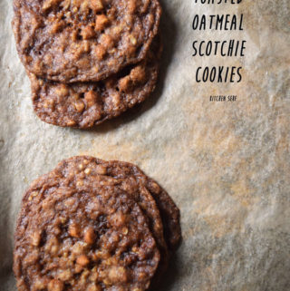 Toasted Oatmeal Scotchie Cookies are everything you want in a cookie: buttery flavor and crispy but chewy texture studded with butterscotch morsels, which makes them rich.