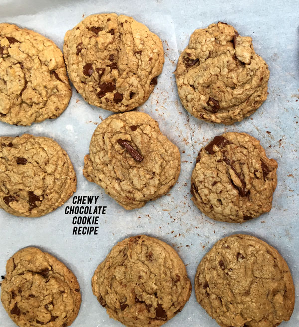 Chewy Chocolate Cookie Recipe + Who Would You Make Cookies For?