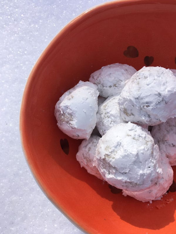 Butterballs Egg-Free Cookie Recipe