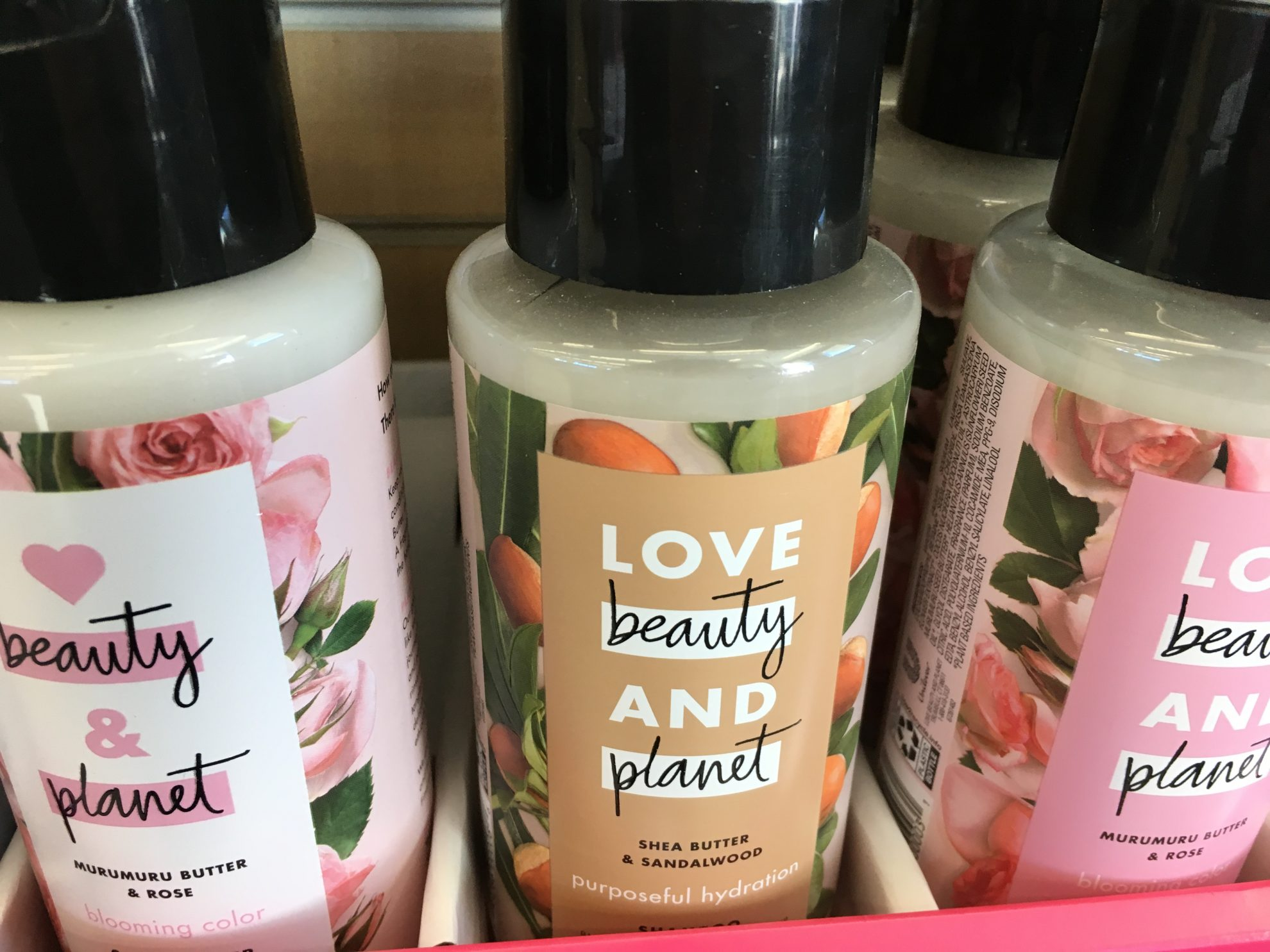 I spied these Love, Beauty, Planet Shamps and conditioners at Walgreens. They look delicious. Has anyone tried them? I love it when my toiletries look good enough to ingest.