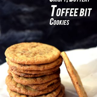 Toffee Bit Cookies for Your Cookie Jar