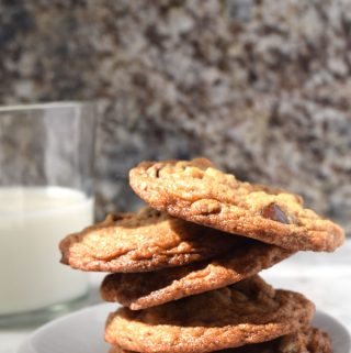 Pretzel Chocolate Pecan Cookie Recipe + Invent Your Cookie